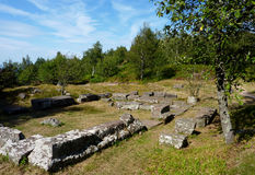 Archaeological site Stock Image