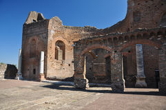 Archaeological site Rome, Villa dei Quintili, Appia Antica Royalty Free Stock Photography
