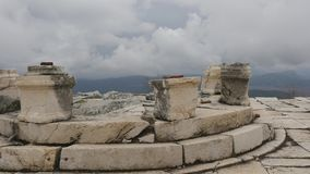 The archaeological site of Sagalassos in Turkey, downtown. The archaeological site of Sagalassos is located in southwest Turkey, in Burdur province. Agora place stock footage