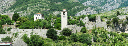 The archaeological site of Stari Bar Royalty Free Stock Image