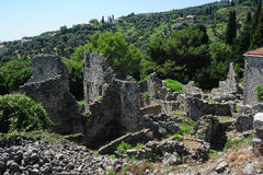 The archaeological site of Stari Bar Stock Photo