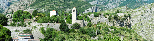 The archaeological site of Stari Bar Royalty Free Stock Images