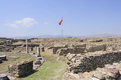 Archaeological site of stobi republic of macedonia europe Royalty Free Stock Image