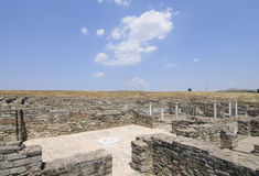 Archaeological site of stobi republic of macedonia europe Stock Photo
