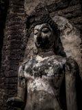 Buddha statue. Archaeological site Sukhothai Kingdom travel thailand Royalty Free Stock Photography