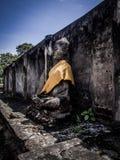Buddha statue. Archaeological site Sukhothai Kingdom travel thailand Stock Images