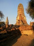 Archaeological site at Temple Suchothai. Stock Image
