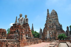 Archaeological site in Thailand Royalty Free Stock Photo