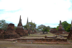 Archaeological site  in Thailand Stock Photos