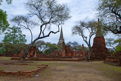 Archaeological site  in Thailand Royalty Free Stock Images