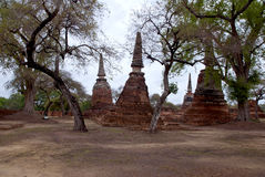 Archaeological site  in Thailand Royalty Free Stock Photos