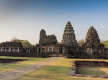 Archaeological site in Thailand Stock Image
