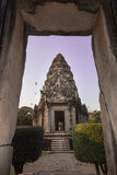 Archaeological site in Thailand Royalty Free Stock Image