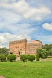Archaeological site in Tivoli near Rome Stock Photography