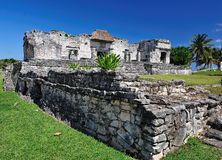 archaeological site of tulum Royalty Free Stock Photos