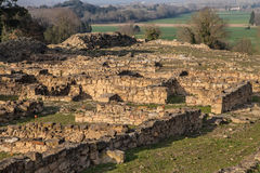 Archaeological site of Ullastret Royalty Free Stock Images