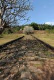 Archaeological site of Wat Phu near Champasak Royalty Free Stock Photos