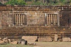 Archaeological site of Wat Phu near Champasak Royalty Free Stock Image