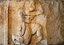 Archaeological Statue Detail Royalty Free Stock Photography