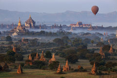 Archaeological Zone - Bagan - Myanmar Royalty Free Stock Image