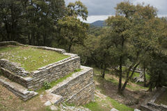 Archaeological zone of Ranas. The Archaeological zone of Ranas located in the state of Queretaro, Mexico Stock Photography