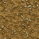 Archaeology. A large abstract image of dirt and rocks for an archaeology or anthropology background stock photos