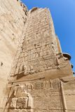 Archaeology of Karnak Temple - Egypt. Archaeology antiques and Egyptian statues at Karnak Temple located at Luxor city, Egypt. 20 September 2017, Luxor Egypt Royalty Free Stock Photography