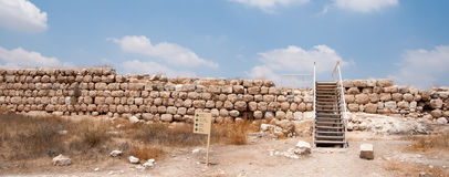 Archaeology Excavations In Israel Stock Photo