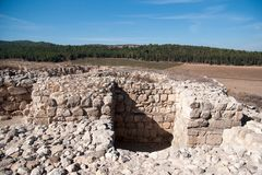Archaeology excavations in Israel Stock Image