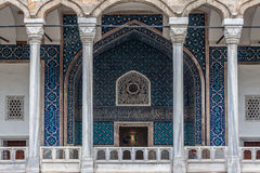 Archaeology Museum Istanbul. The adorned entrance of the Archaeology museum of Istanbul, Turkey Stock Images
