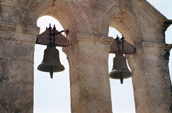 Archaic bell-tower in Zakynthos Royalty Free Stock Images