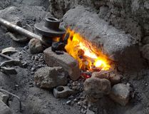 Archaic forge Royalty Free Stock Photo