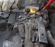 Archaic forge Stock Photos