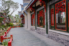 Archaised buildings in Chinese ancient style Royalty Free Stock Photography