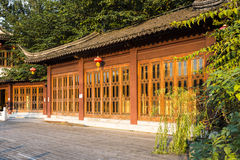Archaize wooden house Stock Images