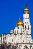 Archangel Cathedral in the Kremlin, Moscow, Russia Royalty Free Stock Image