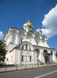 Archangel Cathedral in the Kremlin, Moscow Stock Photography