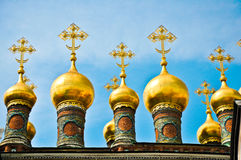 He Archangel Cathedral in Moscow Kremlin, Russia Royalty Free Stock Images