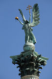 Archangel Gabriel Budapest Stock Image