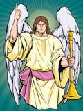 Archangel Gabriel Icon stock illustration