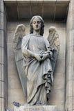 Archangel Gabriel. Madeleine church in Paris Royalty Free Stock Photo