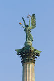 Archangel Gabriel statue Stock Photography