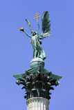 Archangel Gabriel Statue in Budapest Stock Photography