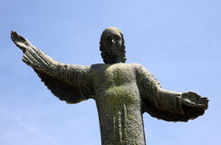Archangel Gabriel. Statue of archangel Gabriel in Croatian shrine Vepric Royalty Free Stock Photography