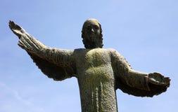 Archangel Gabriel. Statue of archangel Gabriel in Croatian shrine Vepric Royalty Free Stock Images
