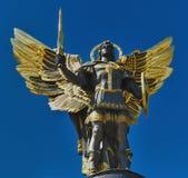 Archangel Michael. Archangel (Arkhistratig) Michael - Sainted promoter of Kiev Stock Photos