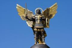 Archangel Michael. In Kiev , Ukraine Stock Image