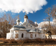 Archangel Michael Church in the museum estate Archangelskoye near Moscow Royalty Free Stock Photos