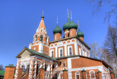 Archangel Michael church. Yaroslavl, Russia Stock Image