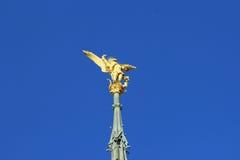 The Archangel of Mont-Saint-Michel Stock Photos